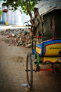 Rickshaw, Pondicherry, South India