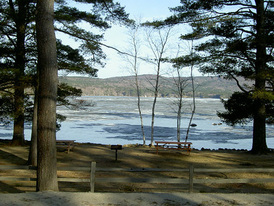 Pleasant Lake Ice Out 2011