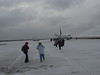 Arrival to Churchill airport.  Nasty weather, with 35 mph  icy wind blowing.<br /> We immediately were taken to the viewing tour on the tundra.