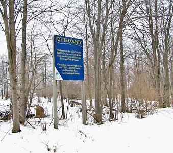 Headwaters of the Allegheny River sign
