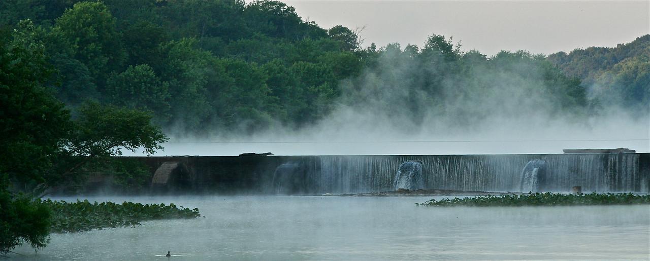 Carnegie Lake dam,Verde