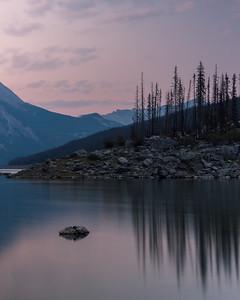 Sunrise At Medicine Lake