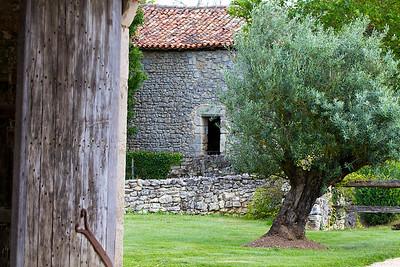 Cabanon et olivier