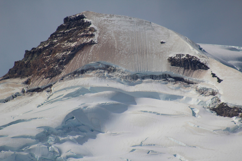Baker's craggy peak.