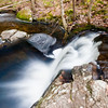 small waterfall at Pulpit Rock Conservation area - I love the whirlpool it creates.