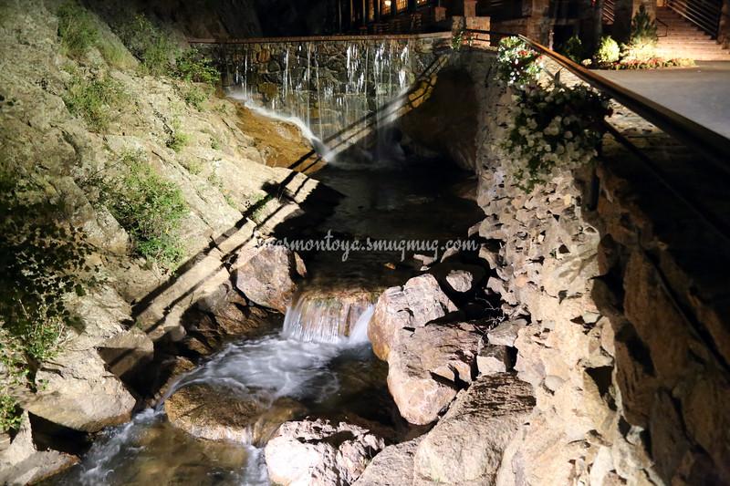 Seven Falls in Colorado Springs, Colorado - September 2015