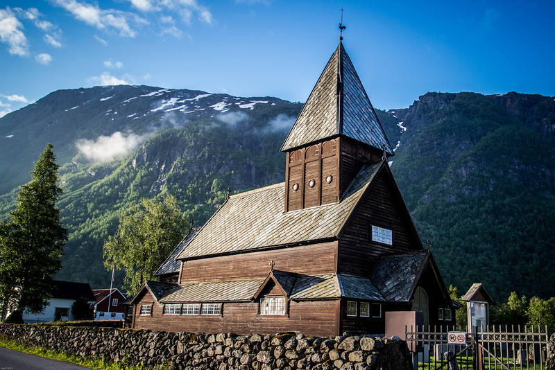 Røldal stave church, ca 1250