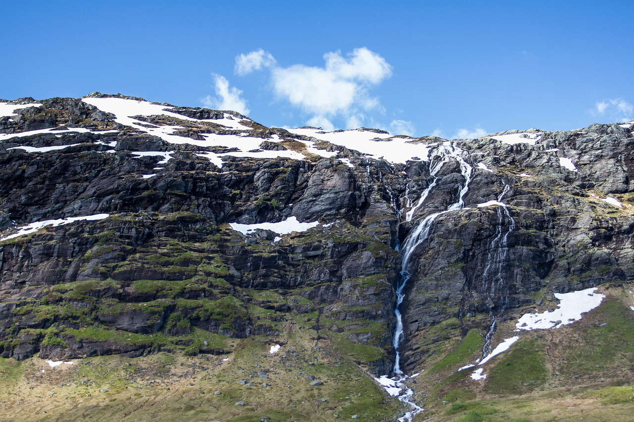 A waterfall above Røldal