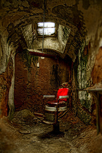The Barber at Eastern State Penitentiary