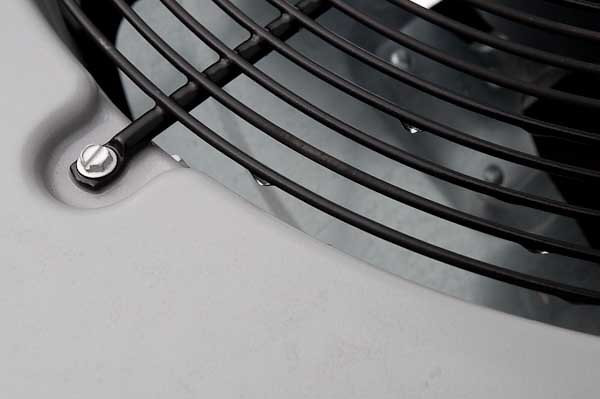 3/2012:  Raindrops on Heat pump, at home