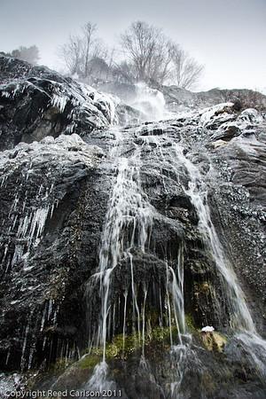 Rainbow Falls Ice 12-8-11