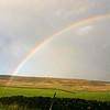Ilkley Moor rainbow