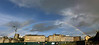 iPhone 3GS panorama of rainbow over Bradford