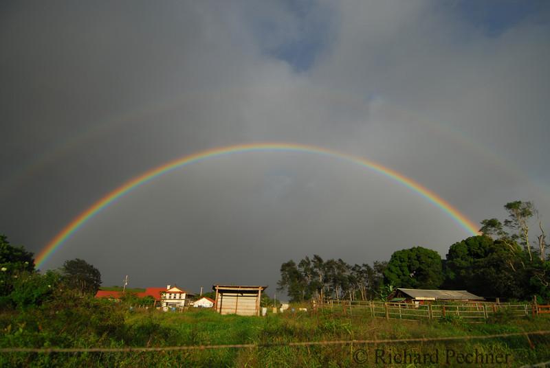 Double rainbow on Kokomo Raod