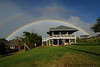Uakoko cottage double rainbow Haiku Maui News