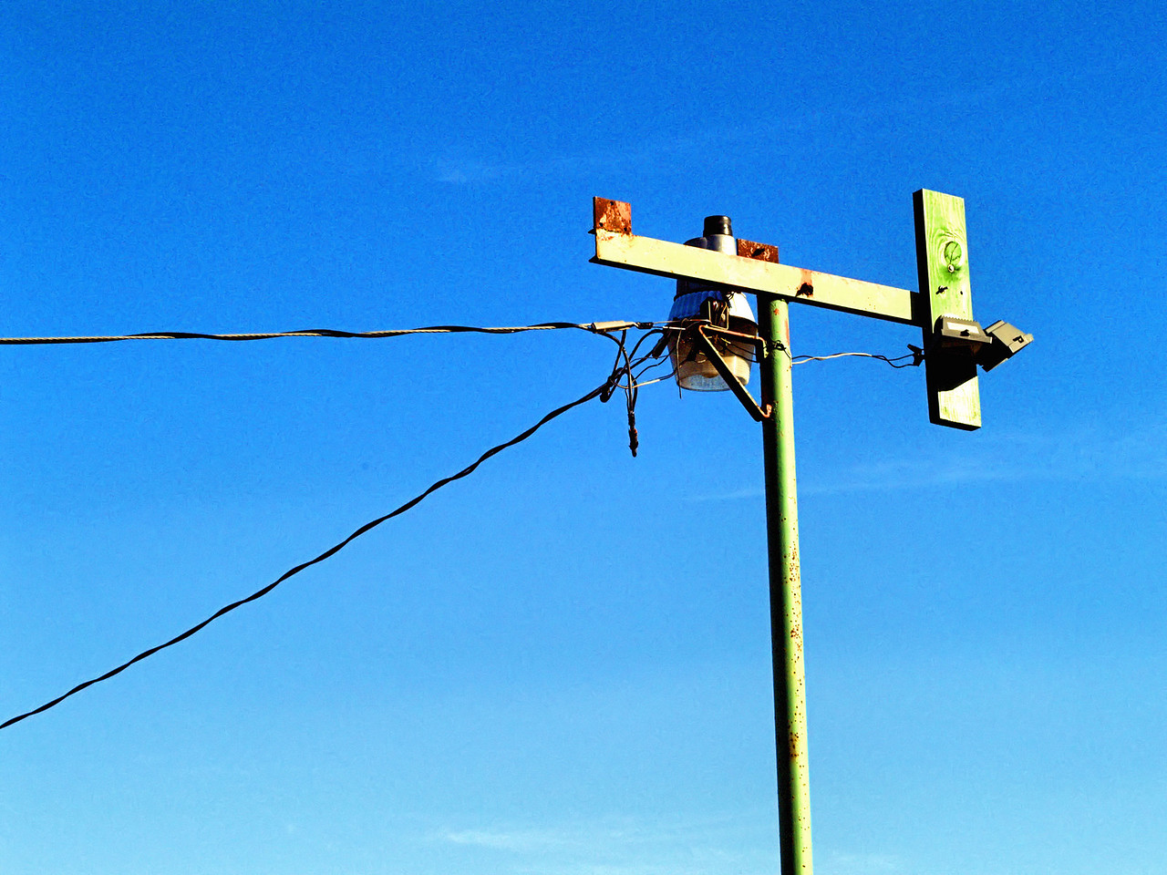 OLYMPUS DIGITAL CAMERA--Light pole above the cattle pens.