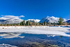 Cold Serenity on Ibex Peak near Troy Montana