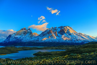 Almirante Nieto Mountain in Early Light
