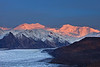 More Alpenglow on Mount Churchill and Bona