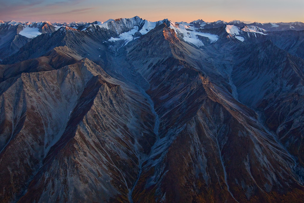 Wrangell-St. Elias National Park from the Air II