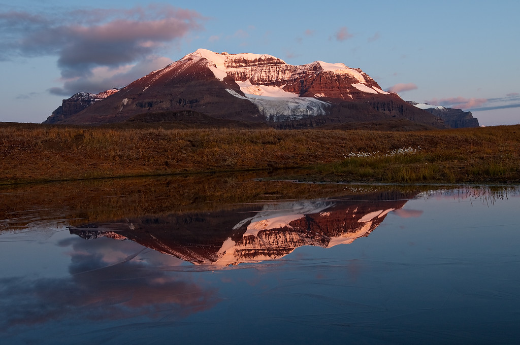 Mountain Reflection - Wrangell-St. Elias National Park, AK