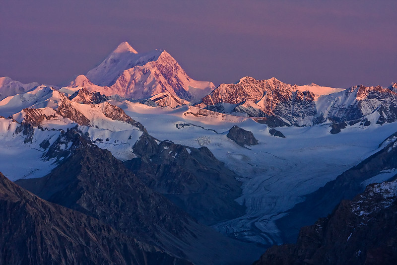 Evening Light on King's Mountain - Wrangell-St. Elias National Park