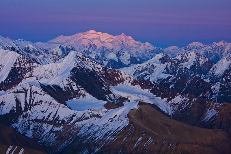 Last Light - Wrangell-St. Elias National Park, AK
