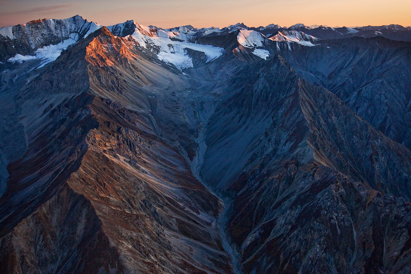 Wrangell-St. Elias National Park from the Air I