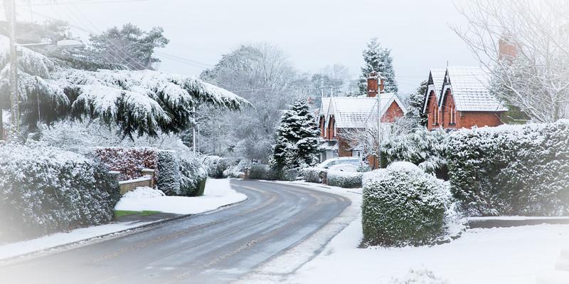 Easenhall snow card