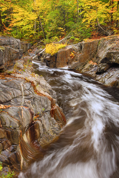 Coos Canyon Rapids and Autumn Colors