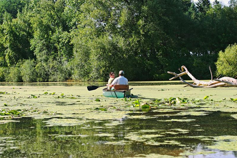 Looking forward to the canoe ahead
