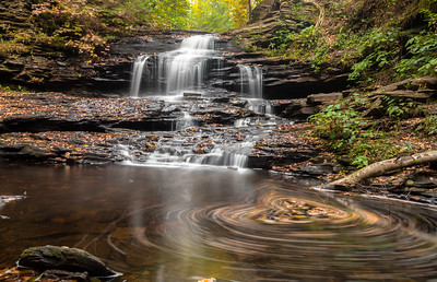 Ricketts Glen State Park, Oct 2017
