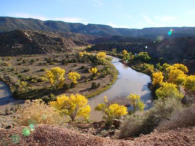 Rio Chama, Abiquiu & Northern New Mexico 2011-10