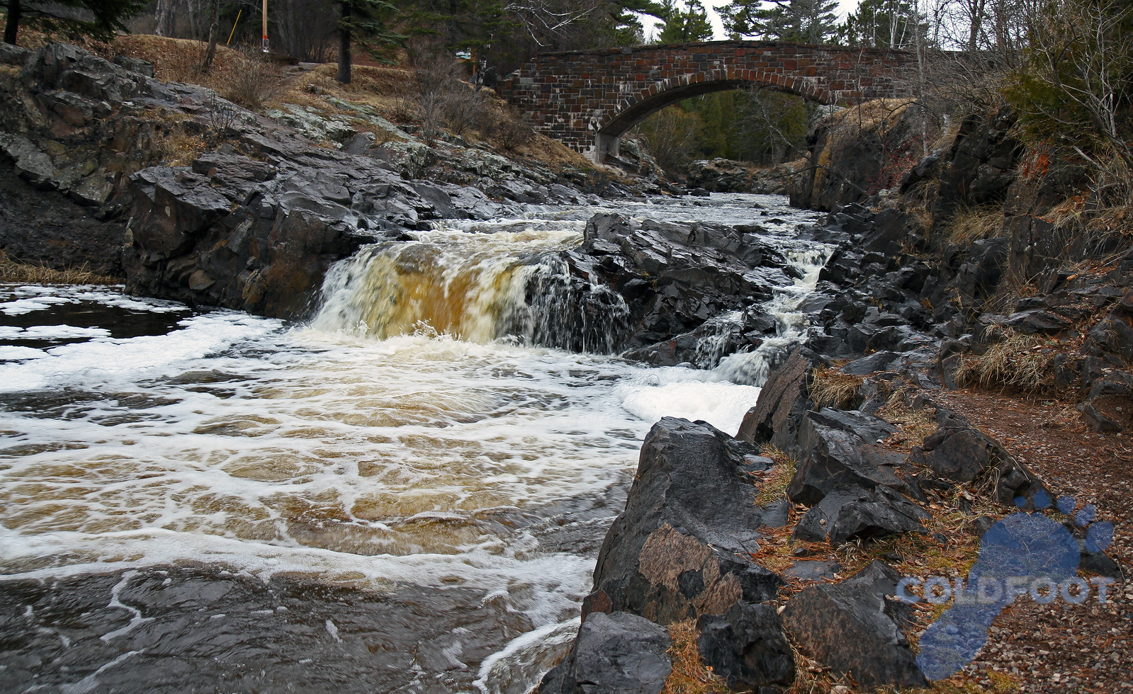 Lester River Duluth MN Fall 2010