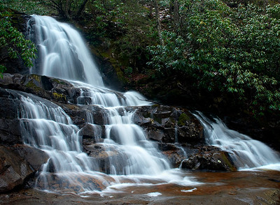 Laurel Falls, Great Smoky Mountains.
