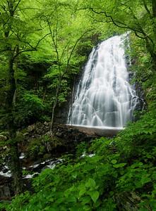 Crabtree Falls, near milepost 340, Blue Ridge Parkway, NC.