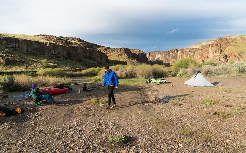Camp at Crutchers Crossing