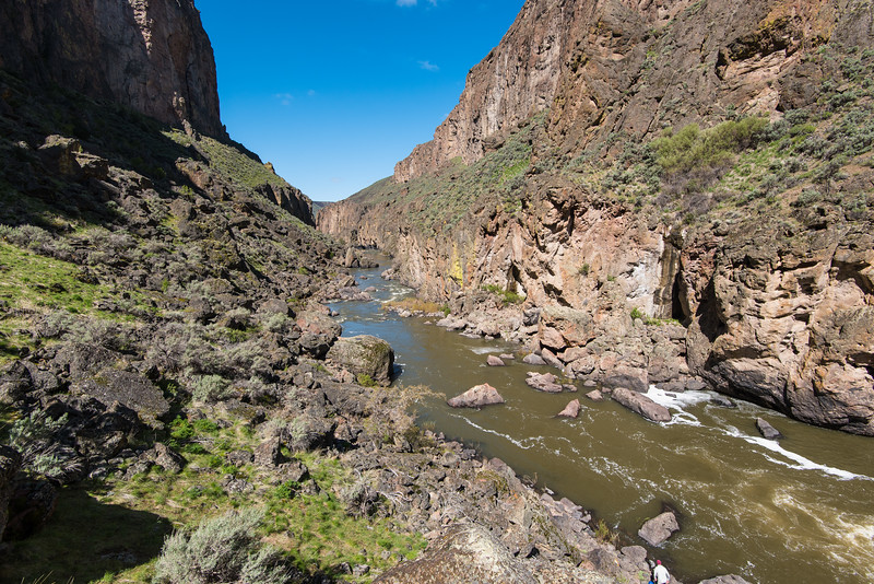 Lambert Gorge below Owyhee Falls