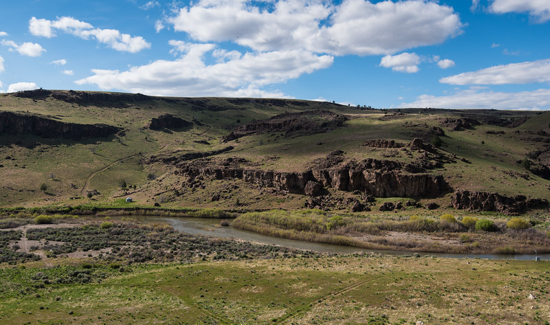 Crutchers Crossing - 3 miles above confluence (S Frk  and E Frk Owyhee)