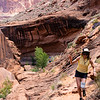 Exiting Coyote Gulch