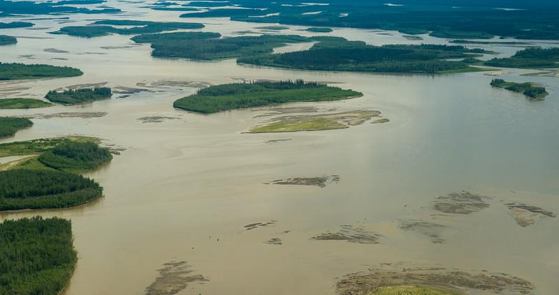 Yukon River near Ft Yukon