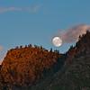 Full Moon Rising Above Pungo Camp