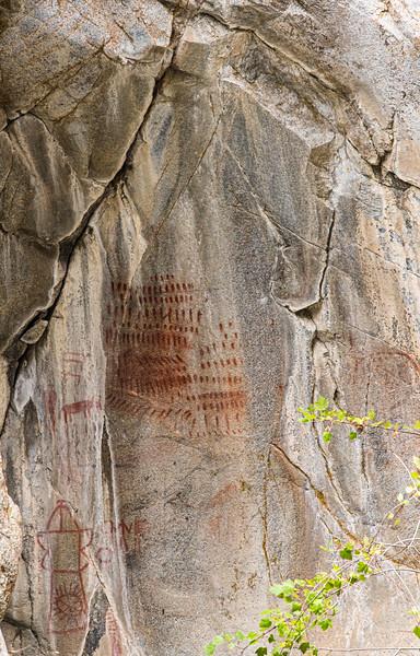 Rock Art in Big Creek Gorge