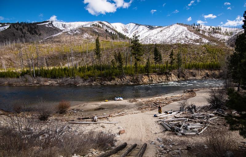 Mid April put in at Indian Creek
