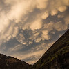 Mammatus clouds at Lightning Strike camp - MF Salmon