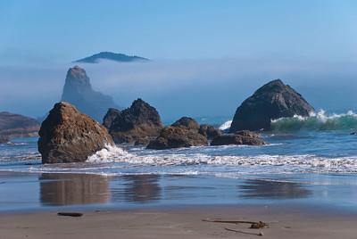 The ocean wild!