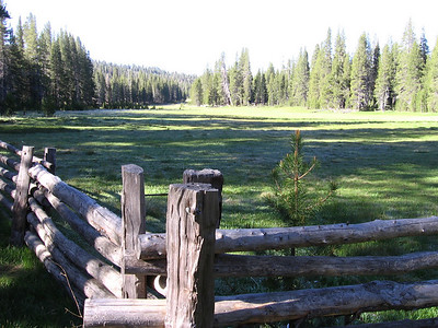 Vista of Big  Meadows near ranger station, looking to south.