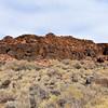 AZ-WNM2018.6.6#606-A Pueblo ruin called the Citadel. Wupatki Nat. Mon. Arizona.