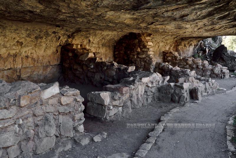 AZ-WCNM-2019.10.2#289.3. Anasazi cliff dwelling in Walnut Canyon near Flagstaff Arizona.