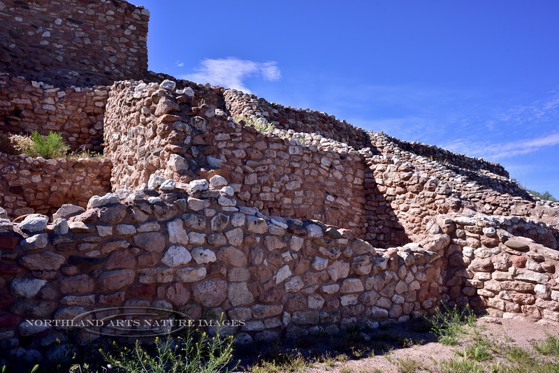 AZ-TZNM-2019.4.19#738.3. Southeast facing rooms of the Tuzigoot Nat. Monument. Cottonwood Arizona.